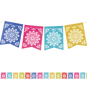 Fiesta banner clipart colorful. Free flags cliparts download