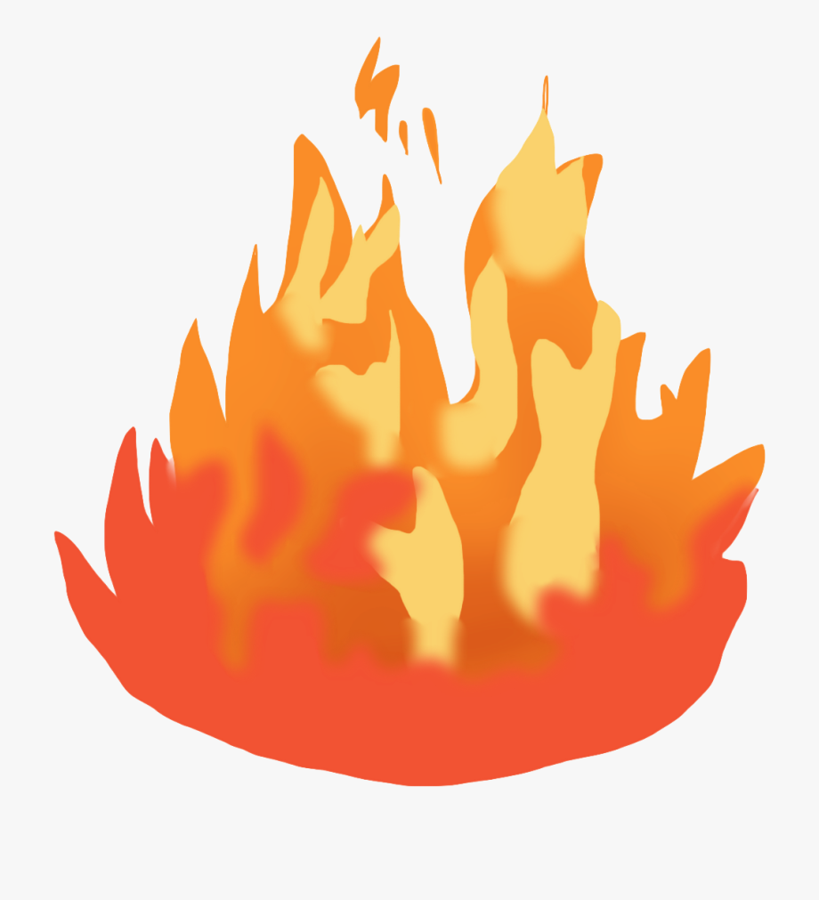 Clipart fire flame.