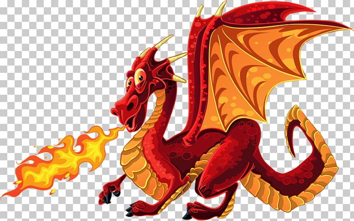 Dragon firebreathing dragon.