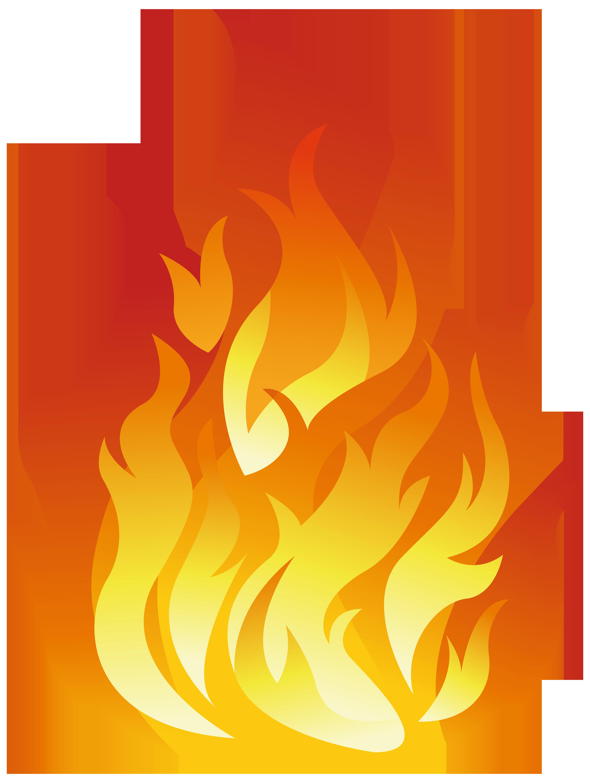 Flame transparent png.