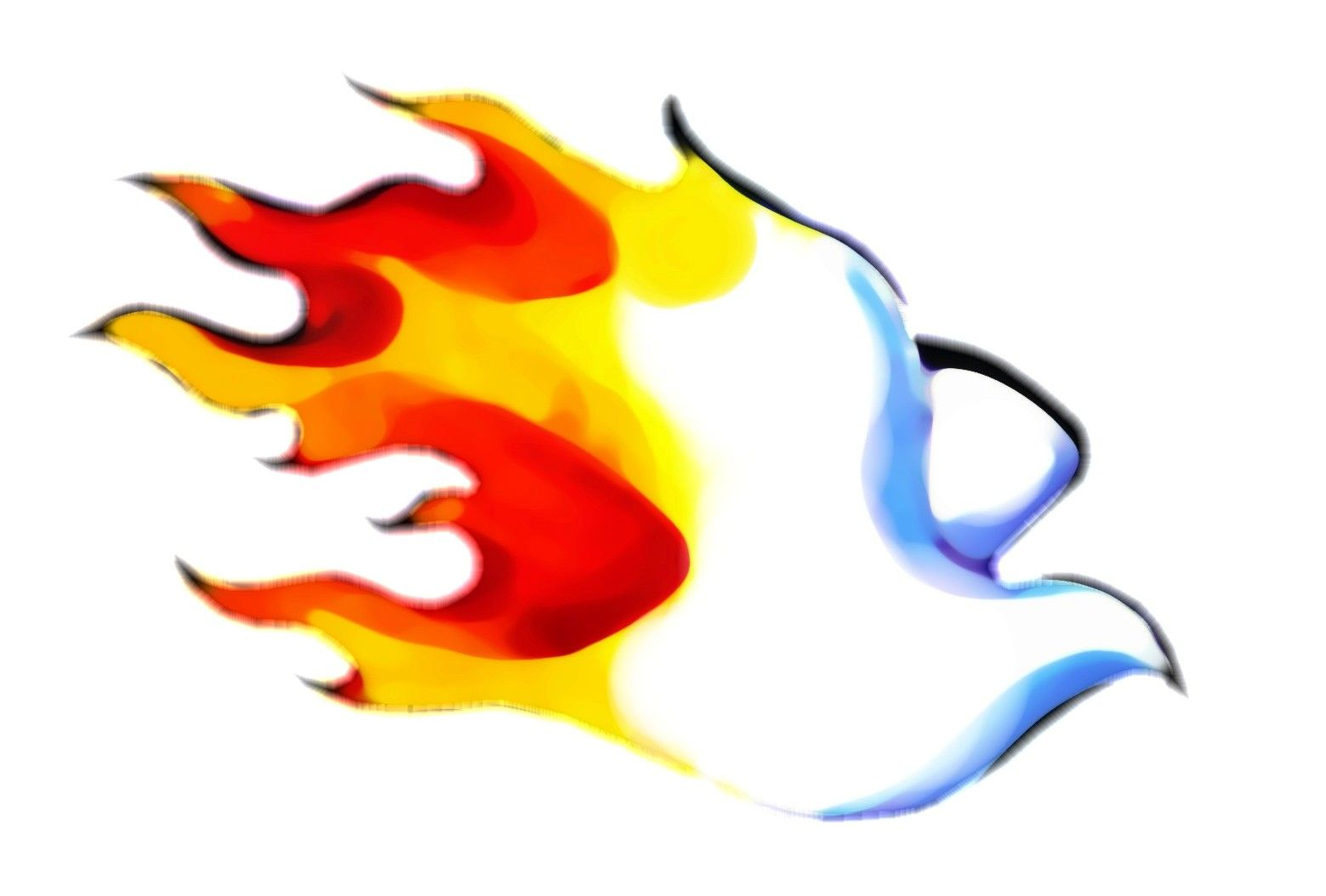flames clipart holy spirit