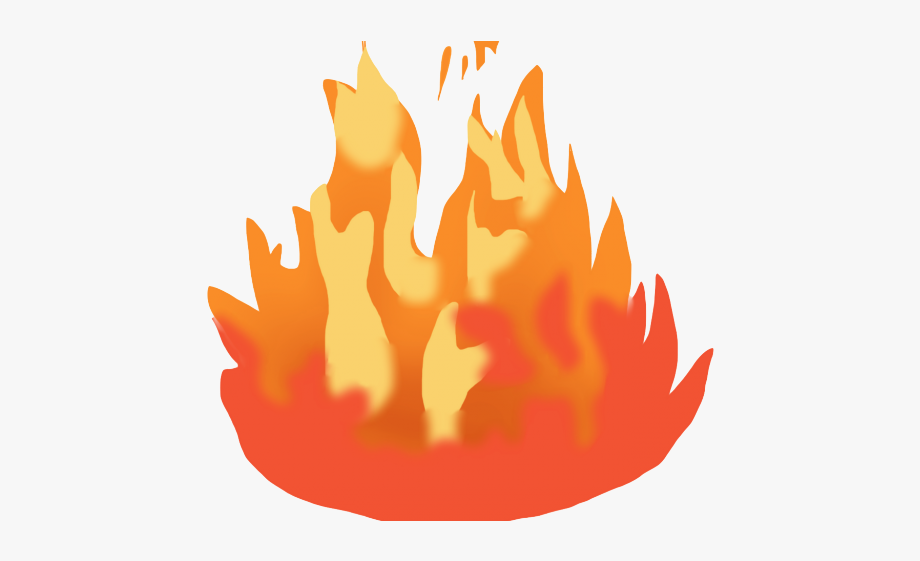 Moving fire clipart.