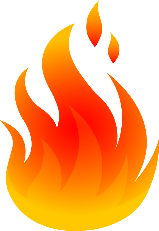 Fire clipart animated.