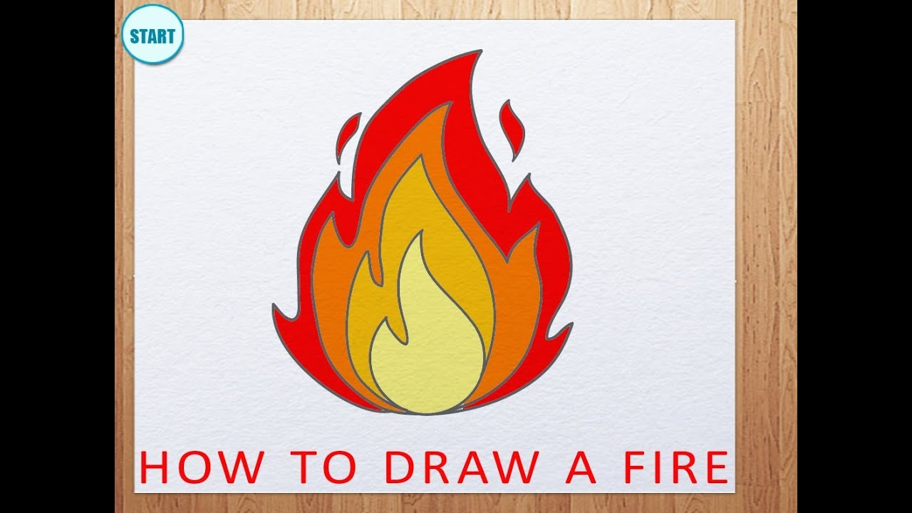 How draw fire.