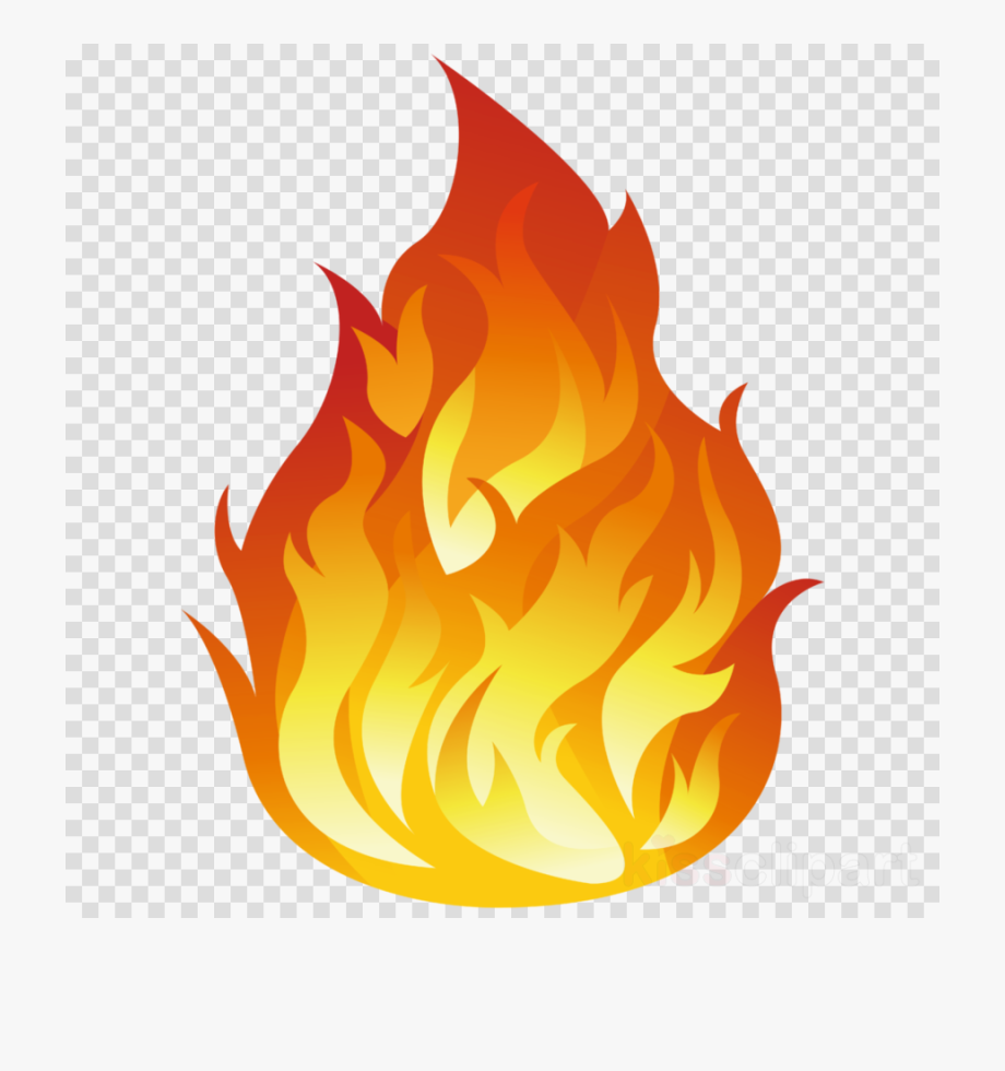 Fire png clipart.