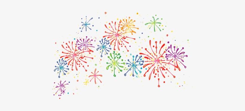 Fireworks celebration png.