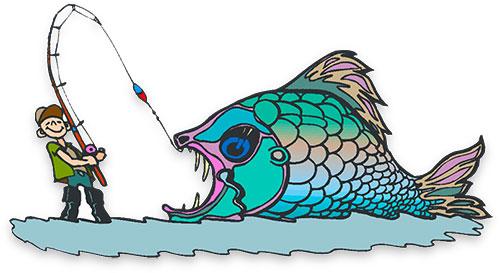 Animated fish gifs.