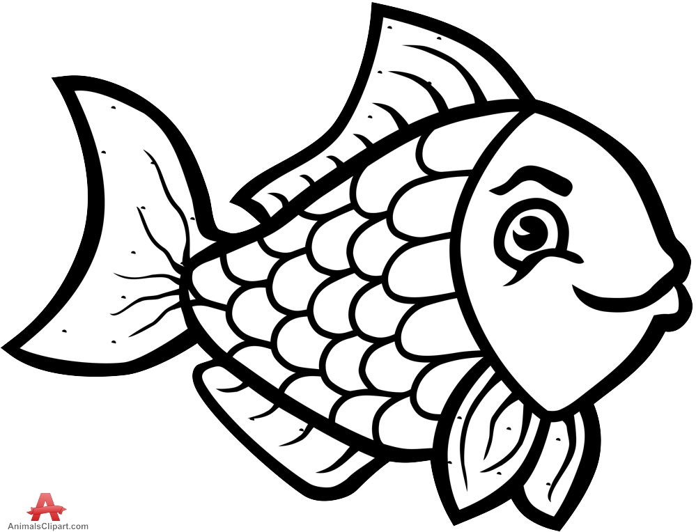 Fish black and white ocean fish clipart black and white