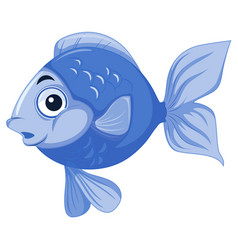 Blue Fish Clipart Vector Images