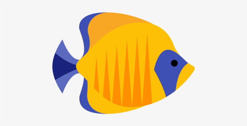 Fish clipart transparent.