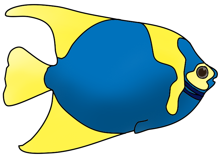 Colorful fish clip art free clipart images