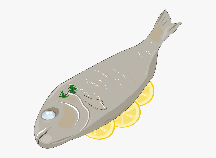 Cooked Fish Clip Art