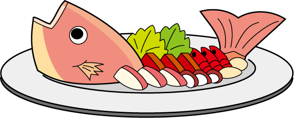 Cooked Fish Clipart