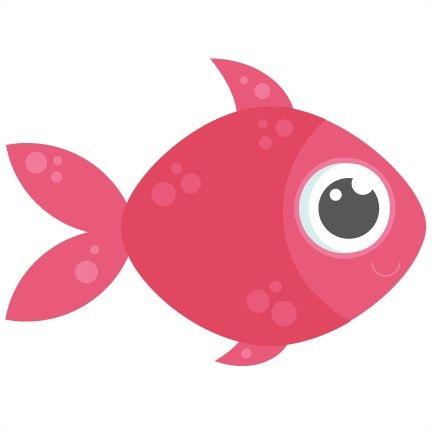 Cute fish clipart.