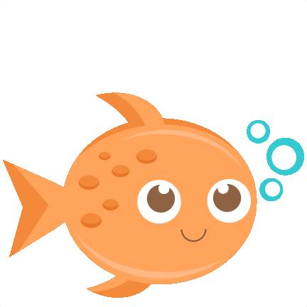 Fish clipart cute.