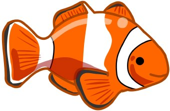 Nemo fish clipart.
