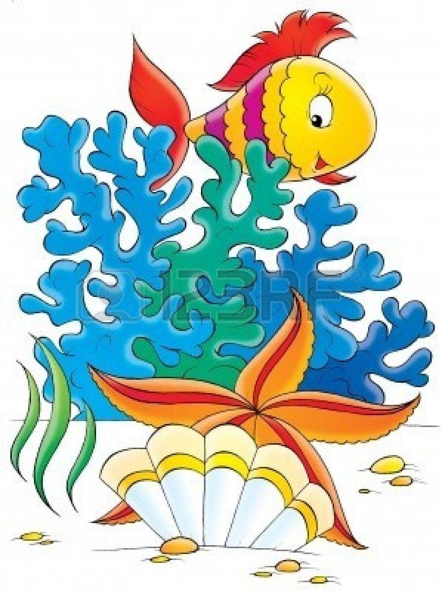 Ocean fish clipart.