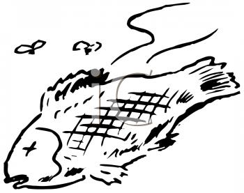 Dead fish clipart.