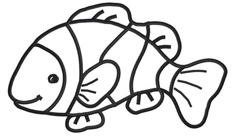 Collection clownfish clipart.