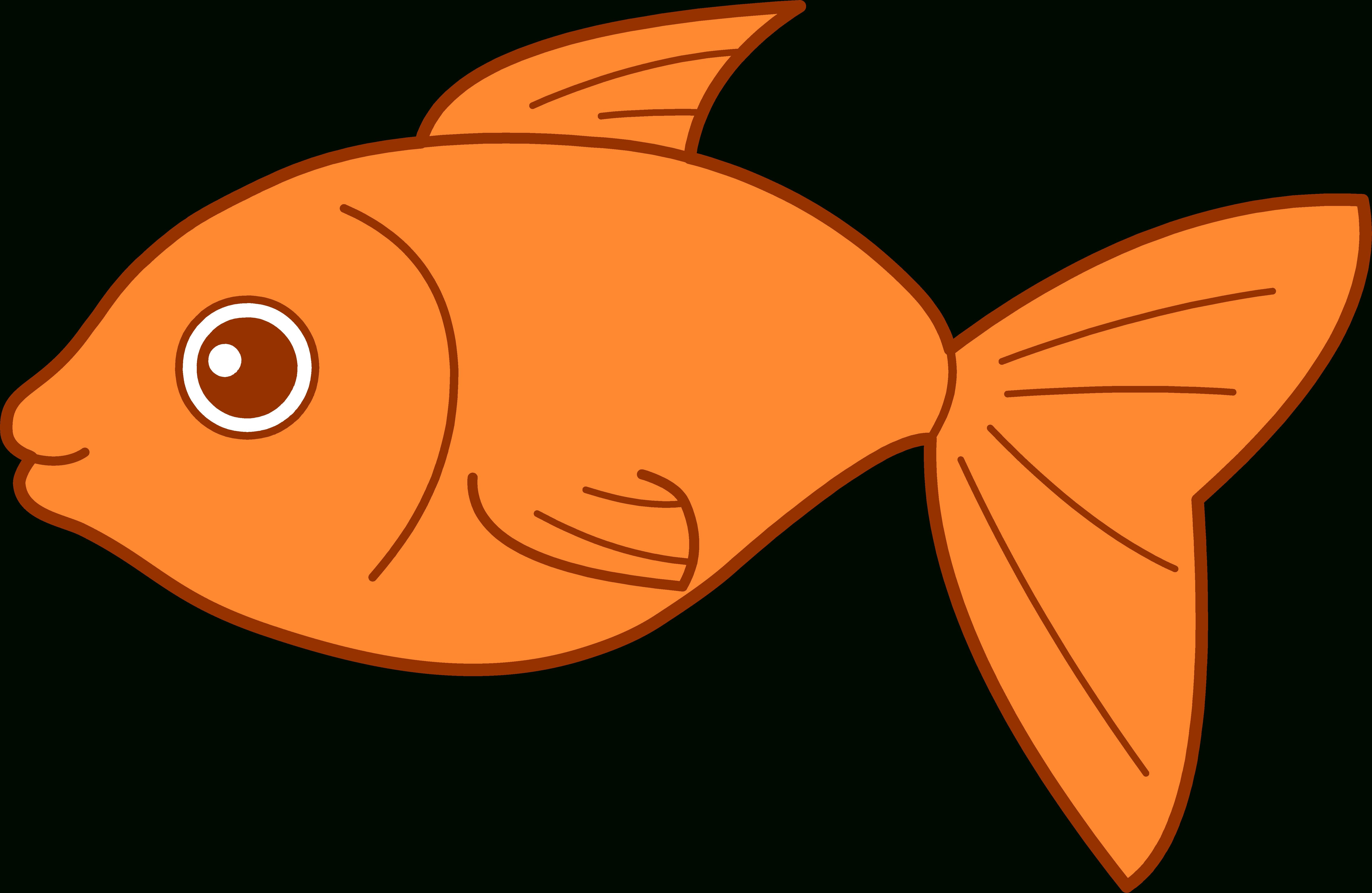 Fish clipart printable.