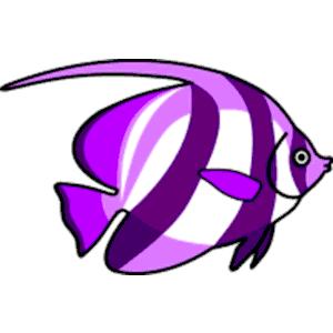 Purple fish clipart, cliparts of Purple fish free download