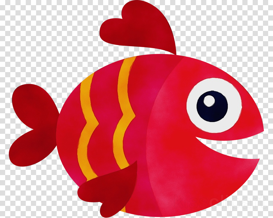Anemone fish clip art fish red fish clipart