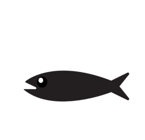 Simple Fish clip art