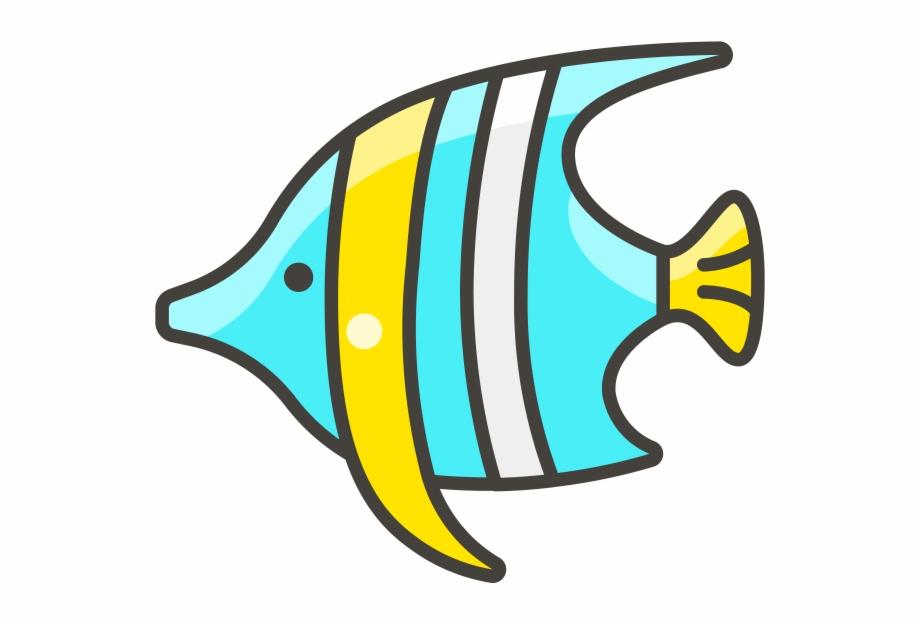 Tropical Fish Emoji Icon