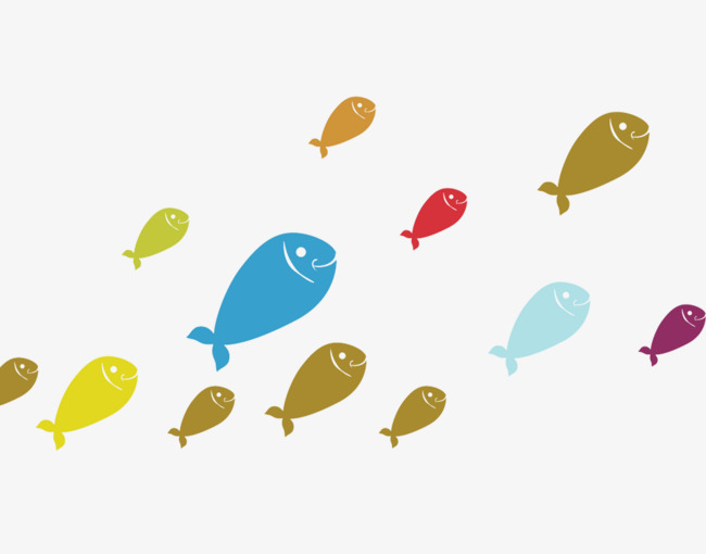 Download Free png A Group Of Small Fish, Fish Clipart, Group