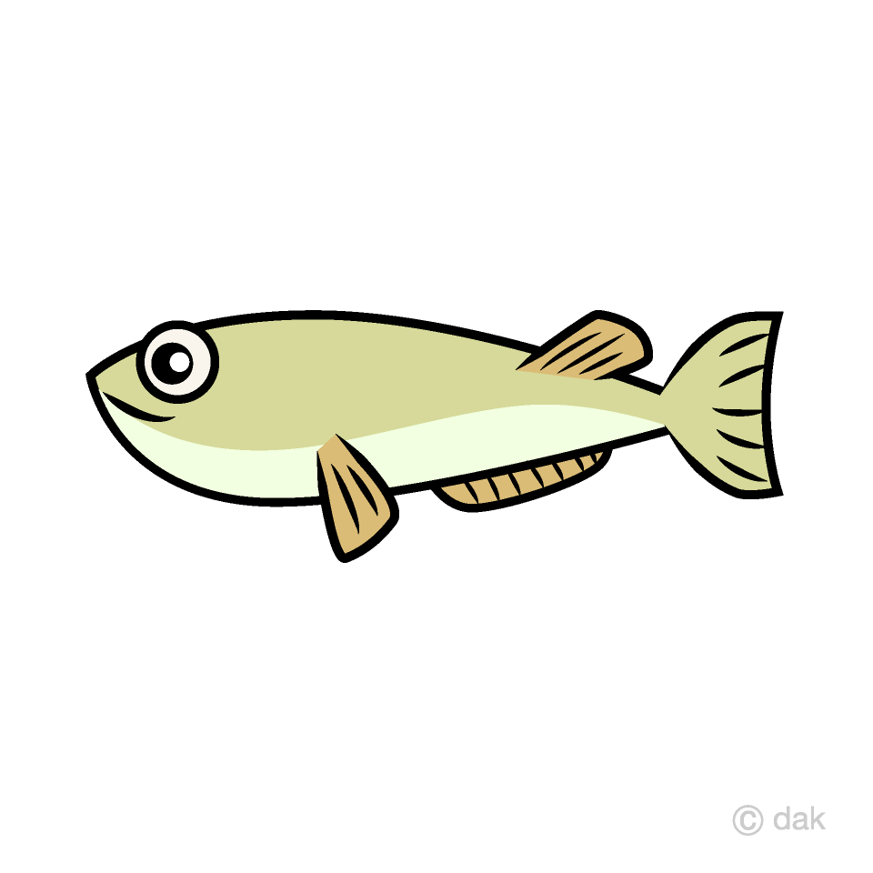Free Small Fish Clipart Image