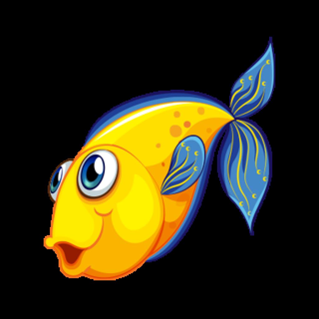 Fish drawing clip.