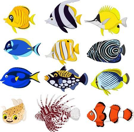 Free Tropical Fish Clipart school fish, Download Free Clip