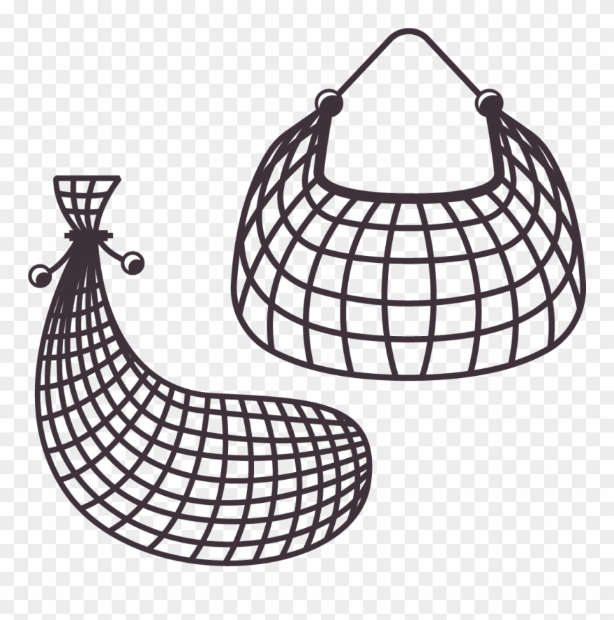 Fish trap clipart.
