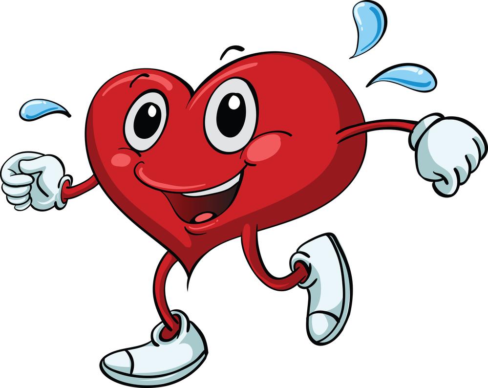 Fitness Heart Cliparts