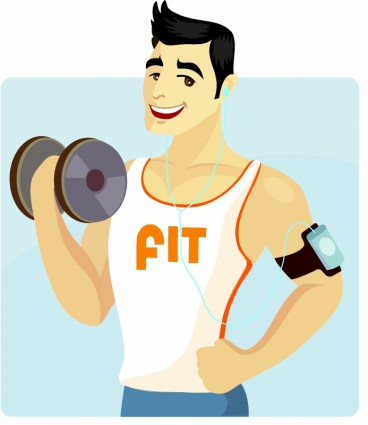 Fitness clipart male. Free man cliparts download