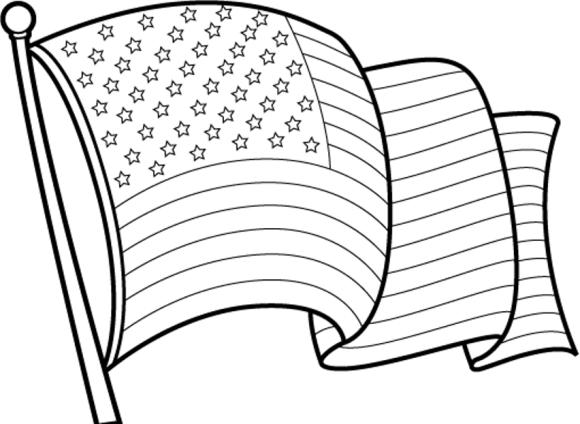 flag clipart color