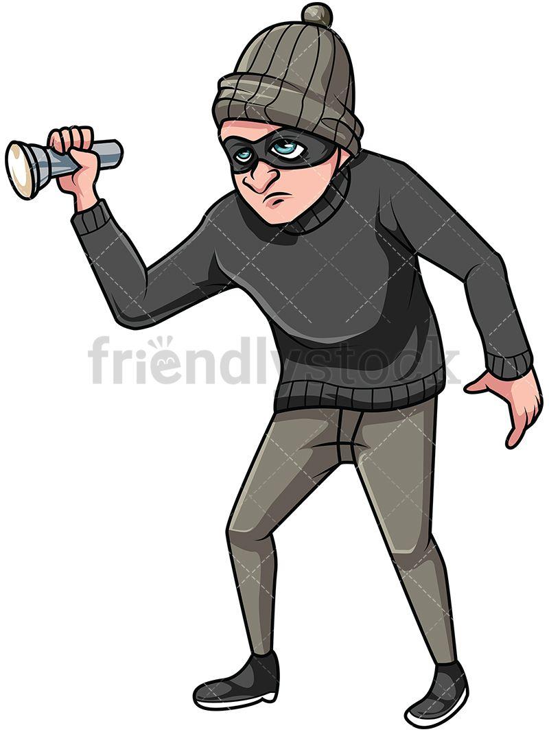 thief clipart house