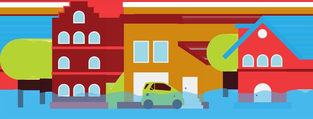 Flood clipart animated.