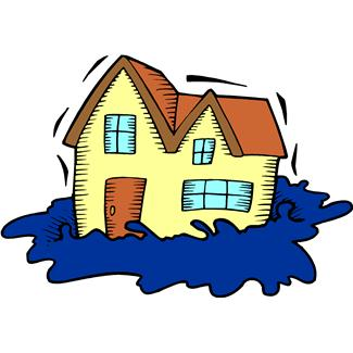 Flooding clipart free.
