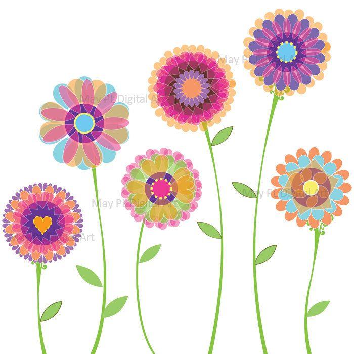 Spring clip art floral