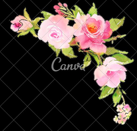 floral clipart boho