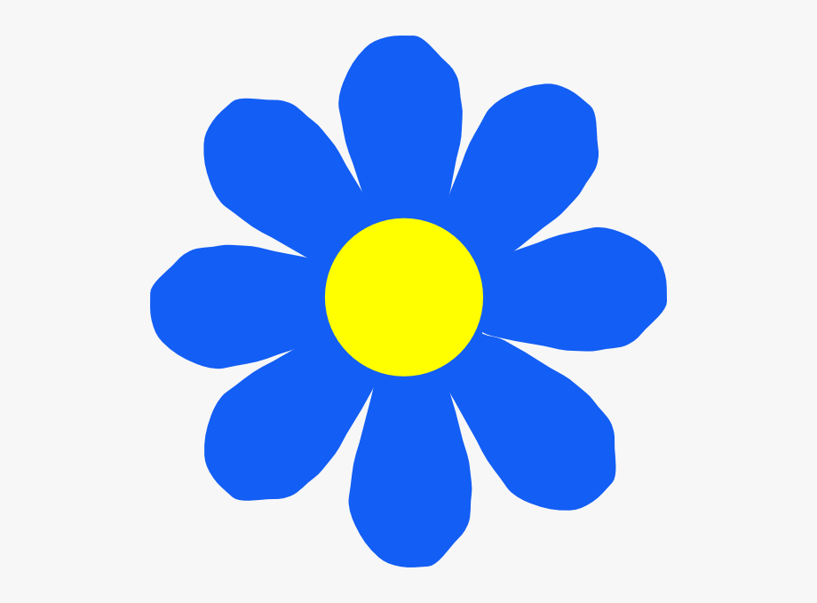Free Blue Flowers Clipart The Cliparts