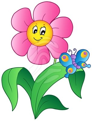 Flower clip art cartoon