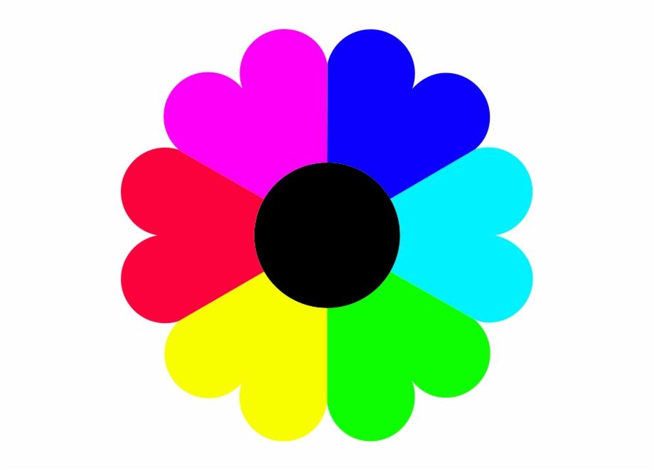 Color Clipart Flower