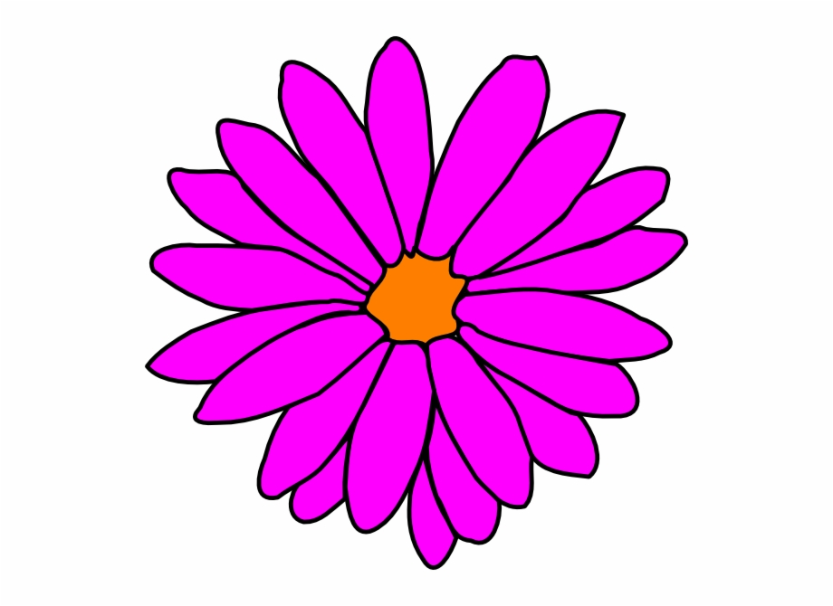 Pink Flower Clipart Girly Flower