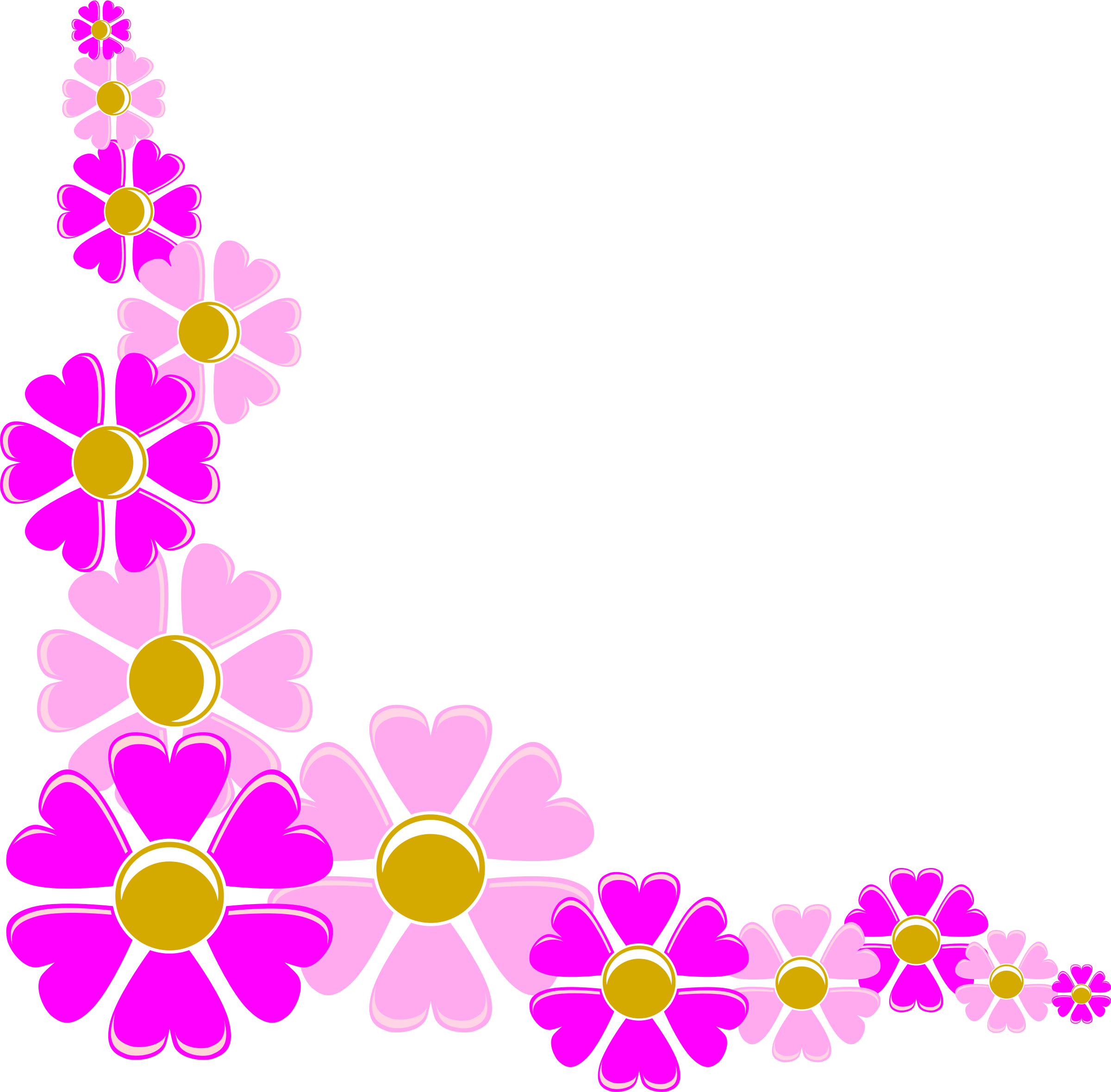 Free Flower Corner Cliparts, Download Free Clip Art, Free