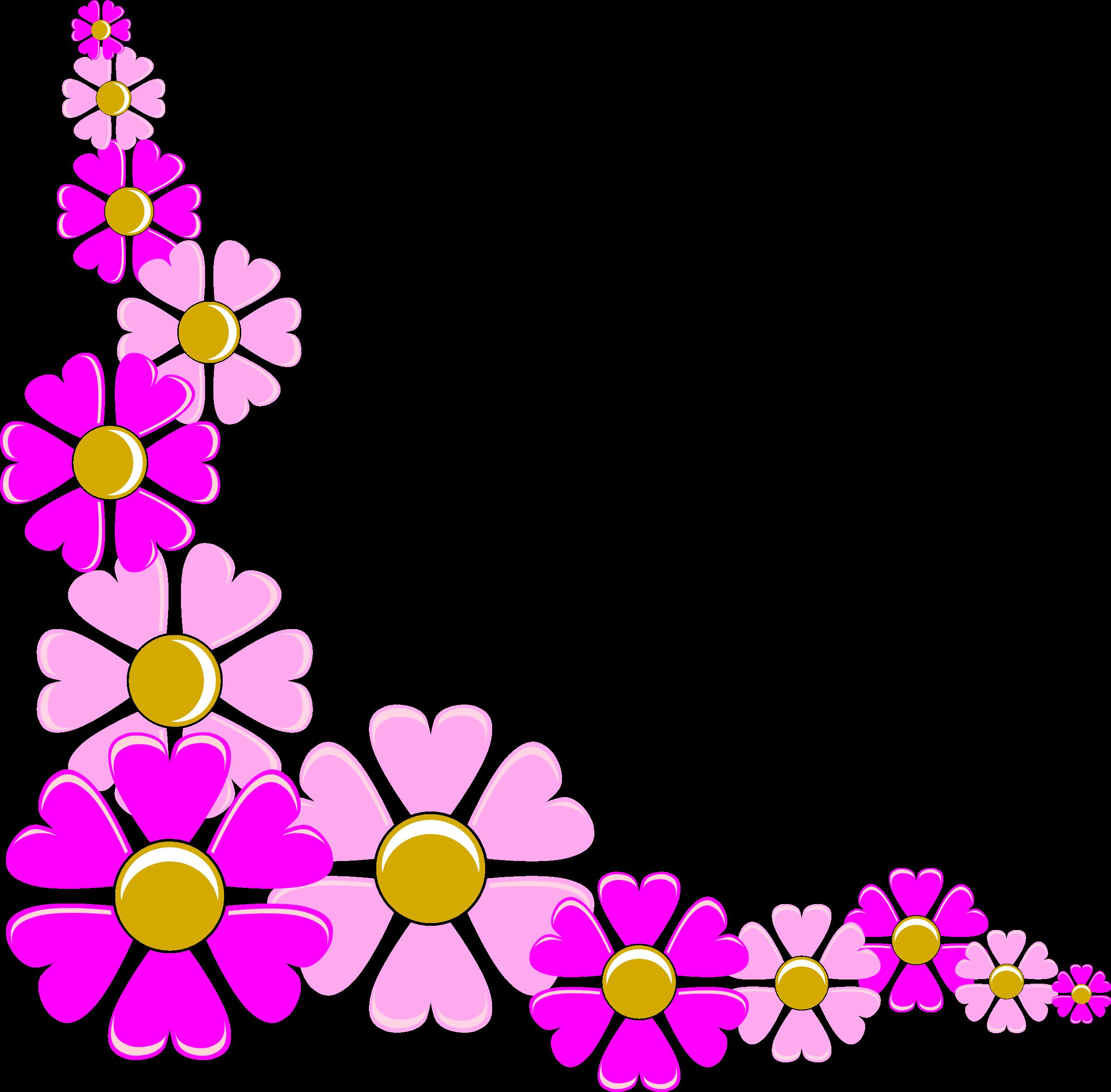 Free flower corner.