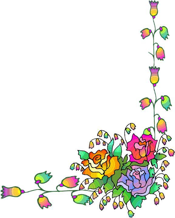 Free Flower Corner Cliparts, Download Free Clip Art, Free