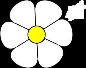 Daisy flower clip.