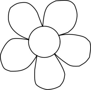 Free Flower Outline Cliparts, Download Free Clip Art, Free